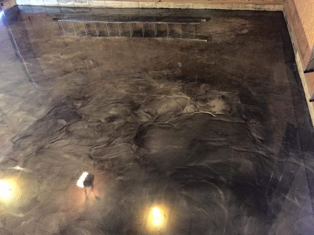 Metallic Marble Epoxy Concrete Eagle, Idaho | Xtreme Epoxy