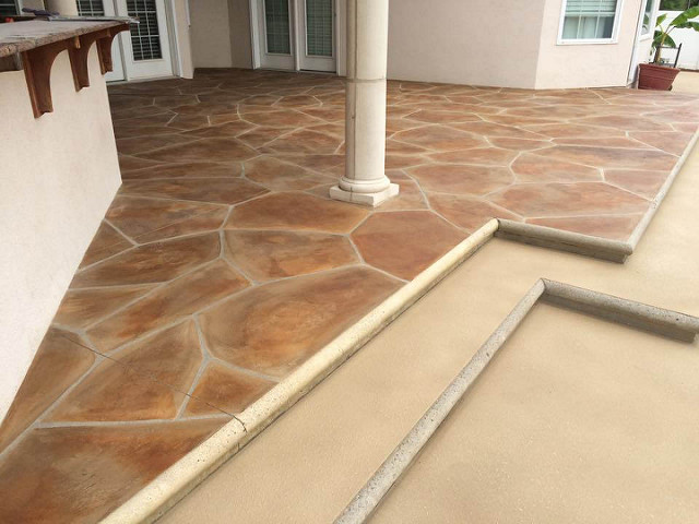 Grand Flagstone Patio Boise, Idaho | Xtreme Epoxy