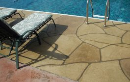 stamped concrete Pool Decks Boise, Idaho | Xtreme Epoxy