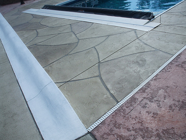 Pool Decks Grand Flagstone Treasure Valley, Idaho | Xtreme Epoxy